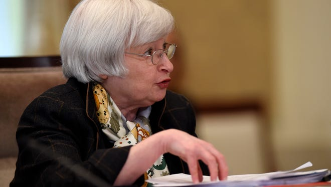Federal Reserve Chair Janet Yellen presided over this week's meeting of Fed policymakers.
