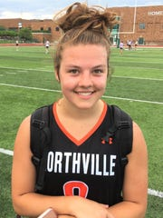 Northville junior Kendall Wasik improved her season