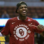 Oklahoma guard Buddy Hield is averaging 29.3 points in four NCAA tournament games.