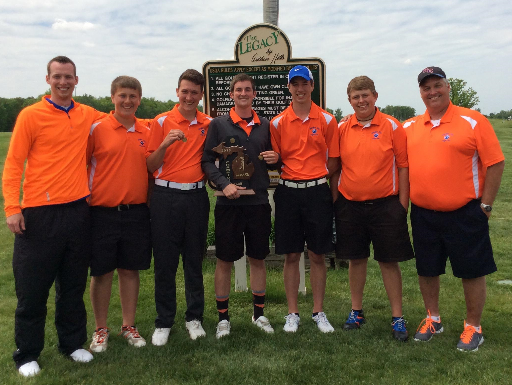 Garden City Earns Second Straight District Golf Title Usa Today High School Sports