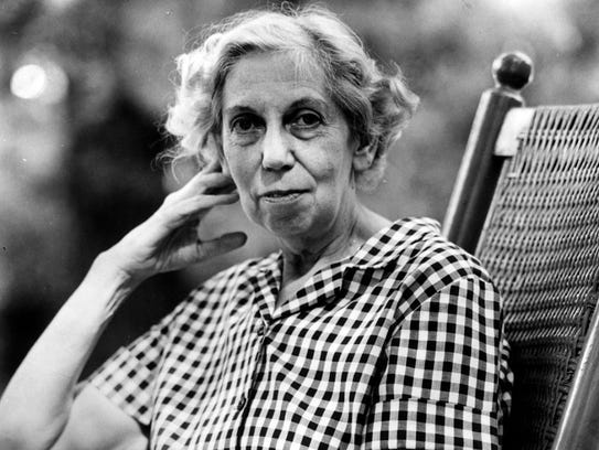 Eudora Welty, author. Nov. 15, 1970. Welty, who has