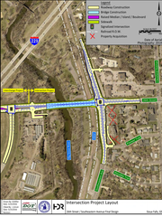 Construction on 26th Street and Southeastern Avenue will begin in 2019. A overpass to the train tracks will be built to decrease congestion. The overall cost of the project will by about $20 million.