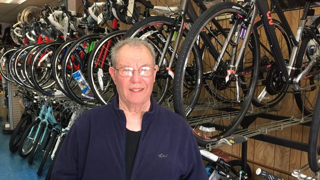 Danny Ventarola, owner of County Cycle Center, also known as Danny's Bicycles, in Yonkers.
