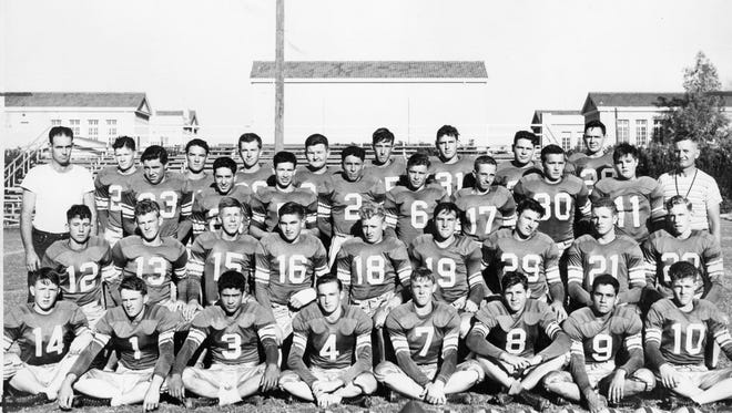 The 1949 Chandler Wolves, which won the Arizona Class B state championship in football.