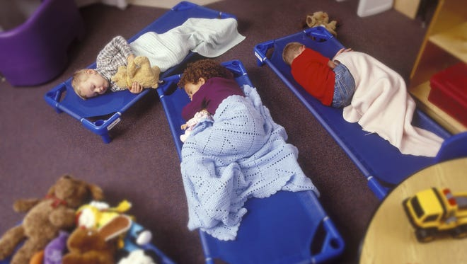 The naptime rules will require child-care centers to create written agreements with parents detailing whether a child will nap, where the child will nap, what type of surface the child will nap on and who will be supervising the child.