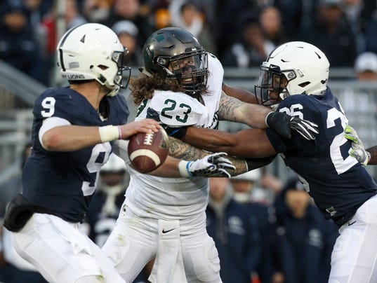 NCAA Football: Michigan State at Penn State