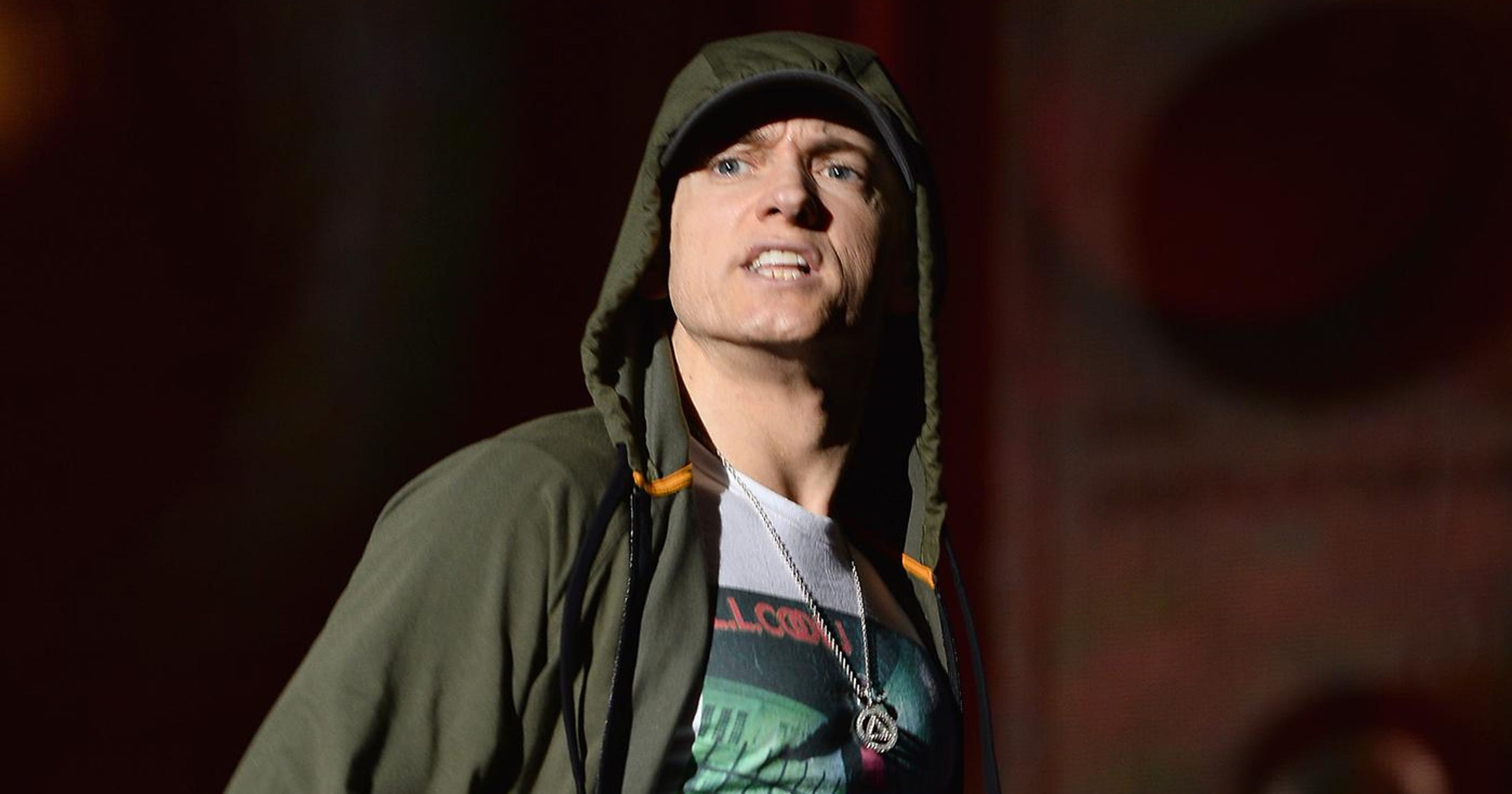 Eminem: I ran 17 miles a day after hitting 230 pounds