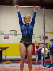 Three-year varsity gymnast is only a junior but her