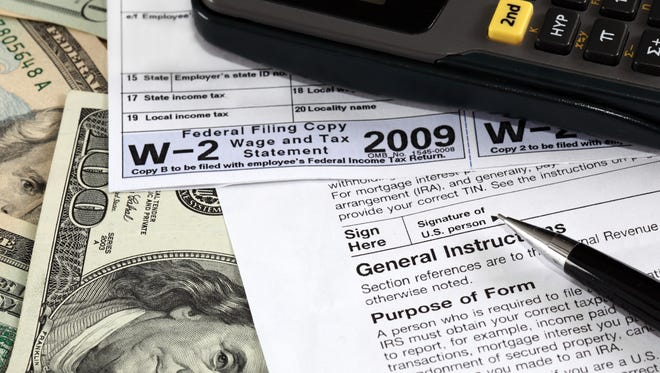 W-2 and W-9 forms on U.S. dollars.
