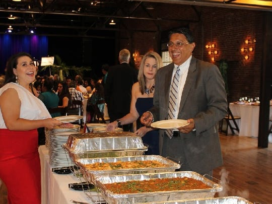 The food is always a star at the Latino Awards.