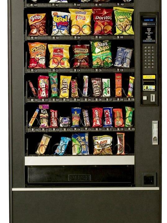 vending machine foods