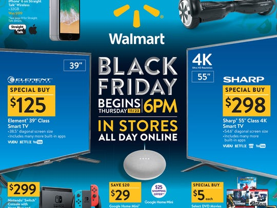 69173c836c7 Black Friday 2017  Walmart ad includes deals on electronics