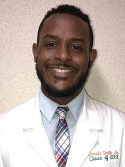 Donald Smith Jr., a fourth-years pharmacy student at