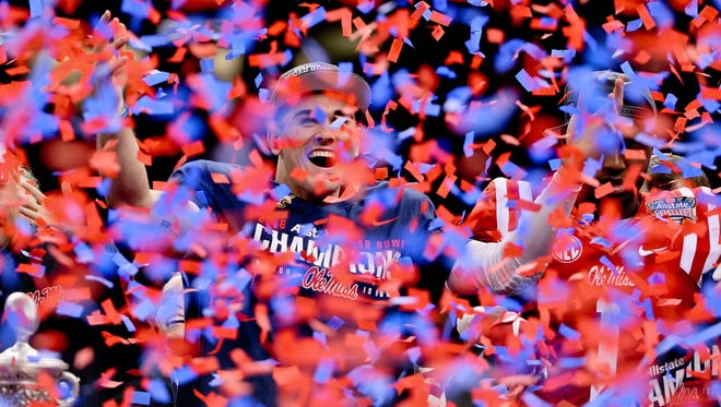 Ole Miss quarterback Chad Kelly enjoyed a successful first year with the Rebels but hopes to accomplish more next season.
