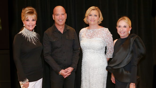 Co-chair Jan Salta, Howie Mandel, Susan Ford Bales, Co-chair Maddy Redstone
