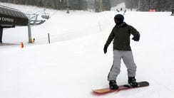 Fresh snow makes for great ski weather on Feb., 23,