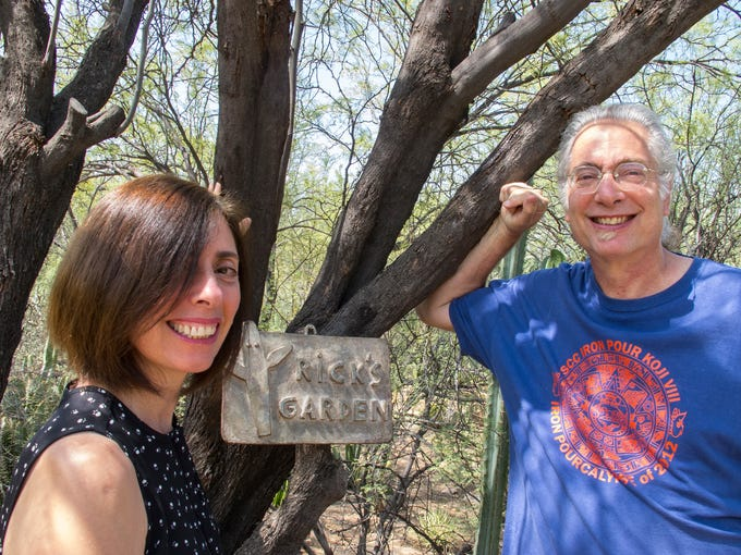 Barbara and Rick Rosenberg in their Paradise Valley