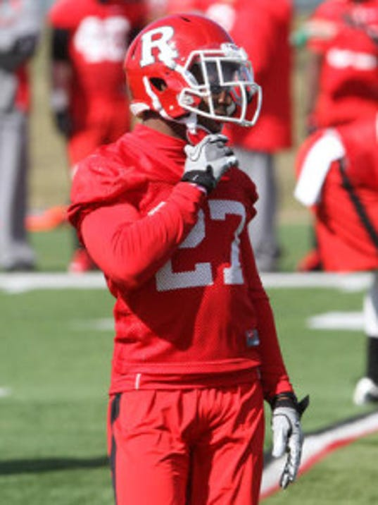 Sophomore Delon Stephenson is settled in at free safety after playing some cornerback as well last season. Now, can he win the starting job? (File photo)