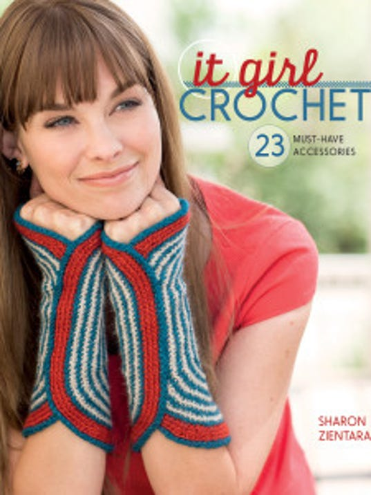 """""""It Girl Crochet"""" is a new book of 23 boutique-quality crocheted accessories."""