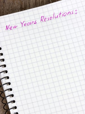 What will your New Year's resolutions be?