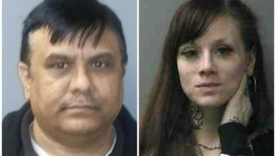 Satish T. Patel, left, and Brittany Guilfoyle.