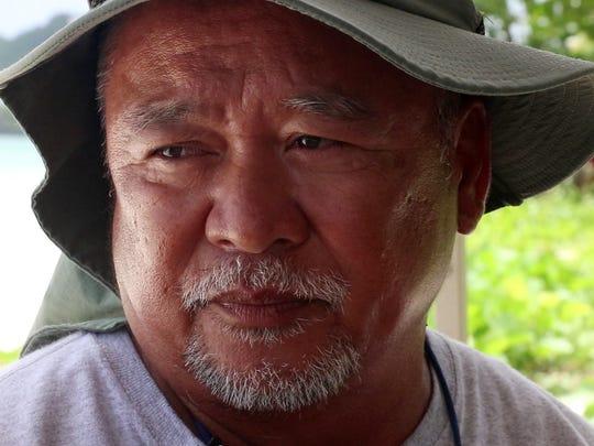 Vic Sahagon's mother threw the talayeru to feed her