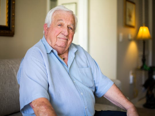 William Bramblet, 85, shown Nov. 1, 2017, in his North Naples home, looks back on his 28-year career in the Army with pride.