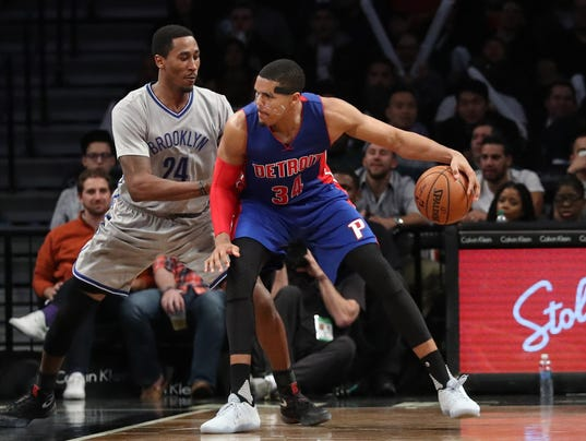NBA: Detroit Pistons at Brooklyn Nets