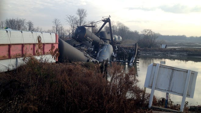 The National Transportation Safety Board determined that a malfunctioning locking mechanism on a swing bridge led to the derailment of a freight train in Paulsboro in November 2012.