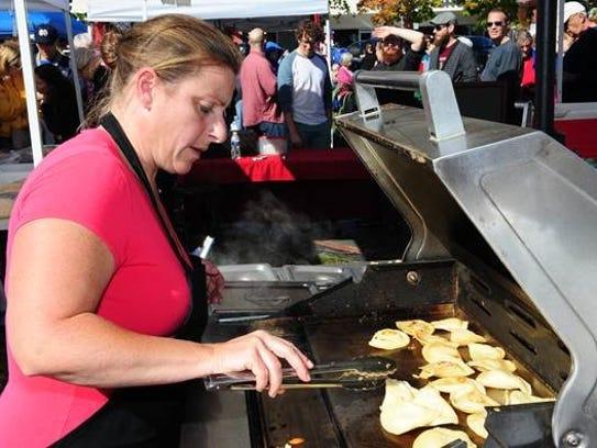 Sherl Gregoiri of People Pierogi Collective cooks up