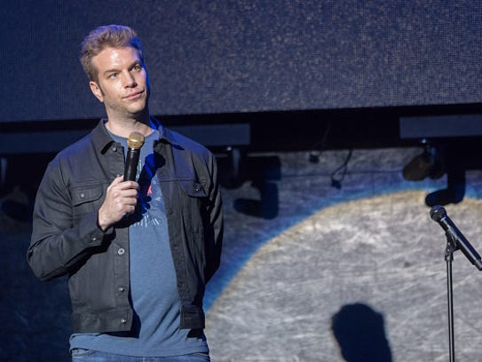 Comedian Anthony Jeselnik performs at the 7th Annual