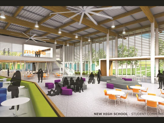 Classroom Design Ideas Elementary ~ Renderings unveiled for new st cloud high school