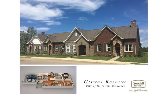 A rendering of Groves Reserve now approved in Mt. Juliet.