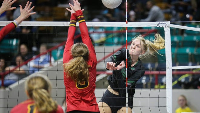 Fossil Ridge's Catie Semadeni has verbally committed to play college volleyball at the University of Montana.