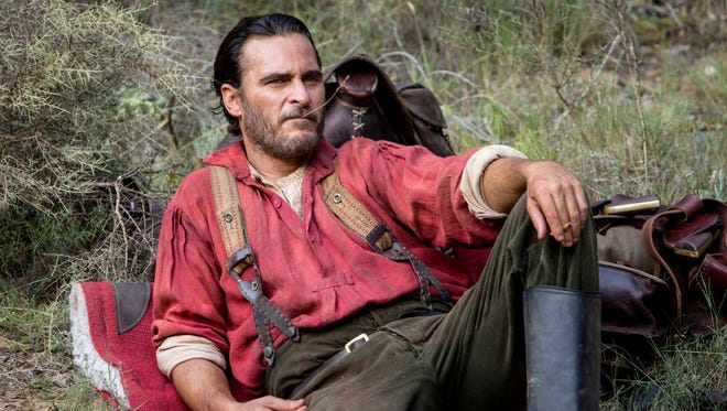 "Joaquin Phoenix stars in ""The Sisters Brothers."""