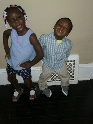 Jada Wright, 7, and Jericho Wright, 3 were reported missing Thursday night.