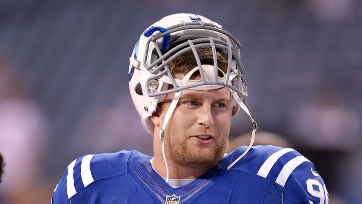Henry Anderson's recovery from knee surgery is a major issue heading into Colts training camp.