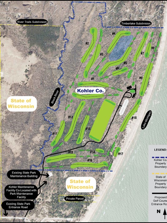 Kohler rejects Wilson golf course consultant