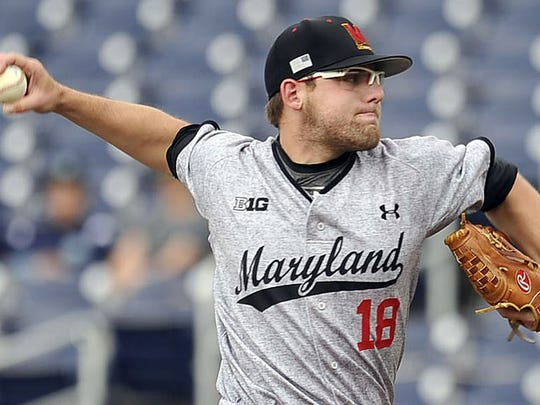 A Gloucester Catholic graduate, right-hander Mike Shawaryn holds five records at Maryland. He was drafted by the Red Sox on Friday.