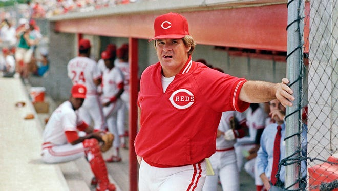 """New MLB commissioner Rob Manfred when asked if Pete Rose would be reinstated: """"No comment."""""""