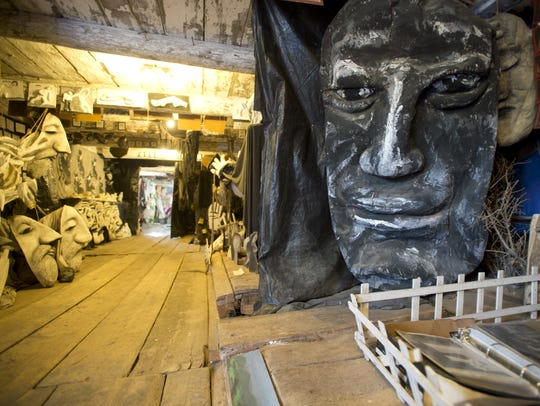 Bread and Puppet Theater's museum displays thousands