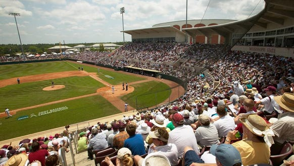 Mississippi State's Dudy Noble Field was named third