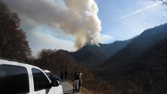 Great Smoky Mountains National Park officials have