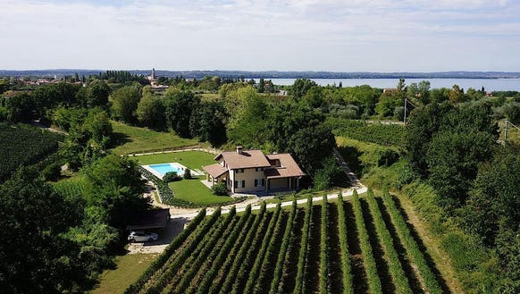 The Maddi Bourgerie estate in Verona, Italy, is one