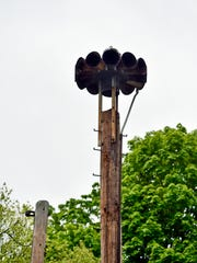This siren, located in an alley behind Grace United Methodist Church in Wrightsville, is close to many residential homes. The debate over the siren has come before Wrightsville borough council.