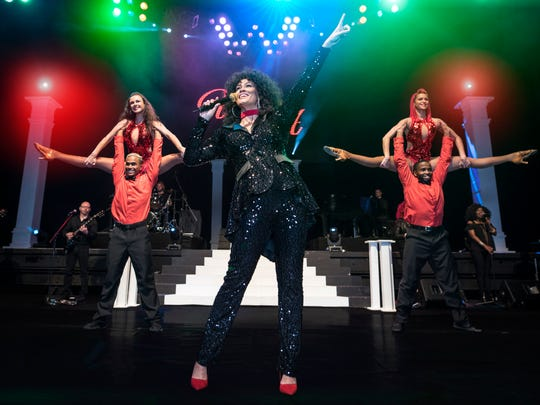 "Belinda Davids stars in ""The Greatest Love of All: The Whitney Houston Show."""