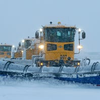 Airport challenge: Clearing runways a choreographed snow dance
