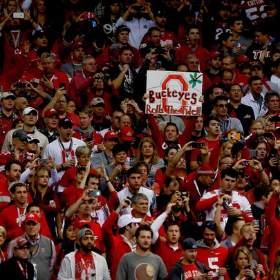 Ohio State fans.