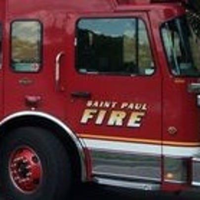 St. Paul Fire Department truck