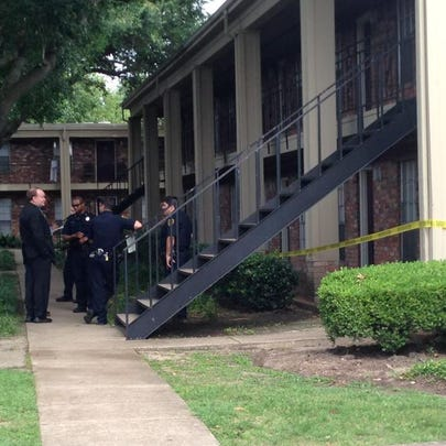 A man died in his southwest Houston apartment Saturday